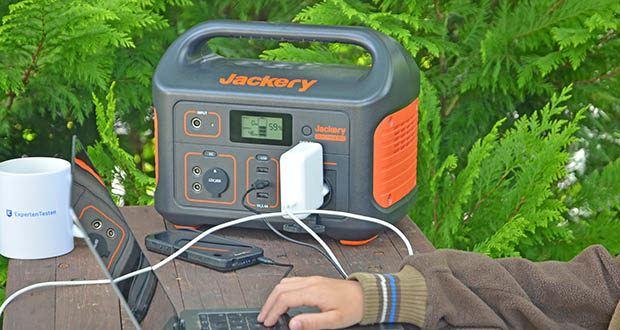 Jackery Tragbare Powerstation Explorer 500 im Test - eine mobile Powerbank der Premiumklasse