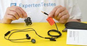 Wie hoch ist die Lautstärke der In Ear Kopfhörer im Vergleich?