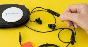 Was sind die Sicherheitshinweise im Umgang mit In Ear Kopfhörern?
