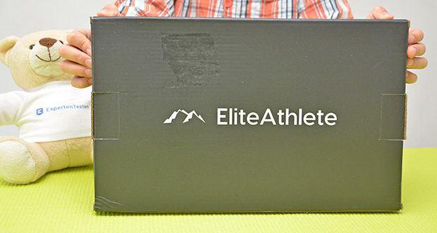 EliteAthlete Bauchtrainer rot im Test - Artikelgewicht: 650 Gramm; Material: Kunststoff
