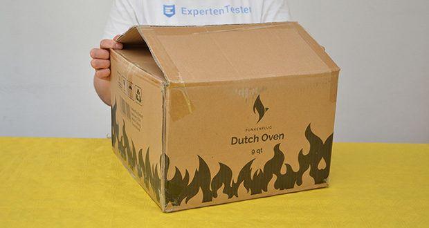 Funkenflug Dutch Oven im Test - Produktabmessungen: 32 x 32 x 24 cm; 9 kg