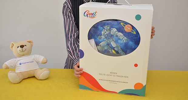 GMT Kids Cubo Space Agent Schulranzen im Test - 3 Jahre Garantie