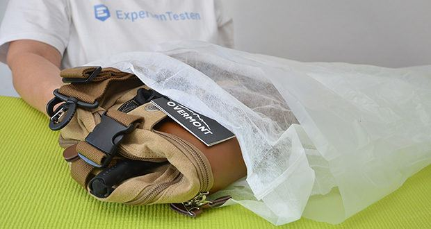 Overmont Vintage Wanderrucksack im Test - Modellnummer: OM-Backpack(KQ); Farbe: Khaki