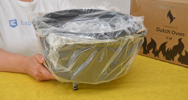 Funkenflug Dutch Oven im Test - Fassungsvermögen: 9 Liter