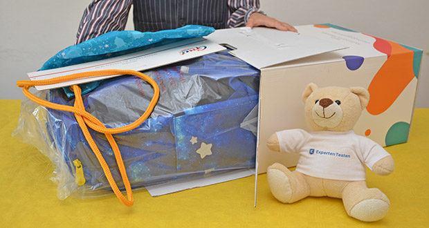 GMT Kids Cubo Space Agent Schulranzen im Test - Gewicht nur 750 g