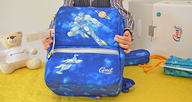 GMT Kids Cubo Space Agent Schulranzen im Test - ausgefallenes Design