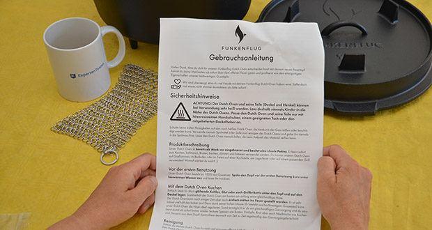 Funkenflug Dutch Oven im Test - 100% Antihaftbeschichtet, kratzfrei und kaum Rostanfällig