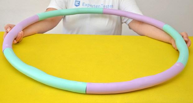 EliteAthlete Fitnessreifen Hula Hoop im Test - gibt es die Möglichkeit, 3 verschiedene Größen zu wählen