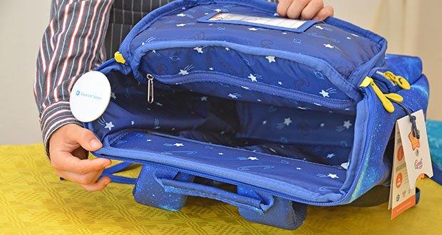 GMT Kids Cubo Space Agent Schulranzen im Test - Volumen: bis 22 zu Liter