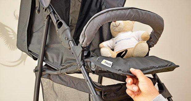 Hauck Sport Buggy im Test - verstellbare Fußstütze