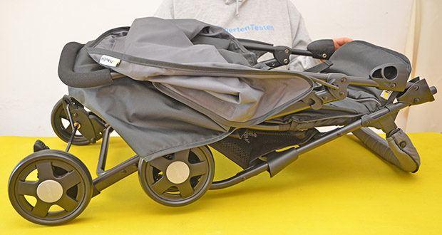 Hauck Sport Buggy im Test - perfekt zum platzsparenden Verstauen oder für Autos mit kleinem Kofferraum