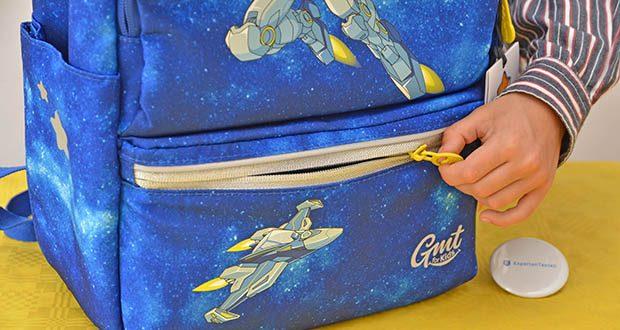 GMT Kids Cubo Space Agent Schulranzen im Test - reflexives Design