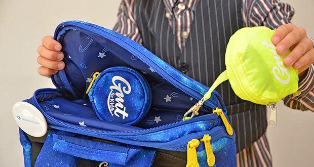 GMT Kids Cubo Space Agent Schulranzen im Test - inklusive Regenschutz Abdeckung