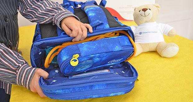 GMT Kids Cubo Space Agent Schulranzen im Test - S-förmige, gepolsterte Schultergurt