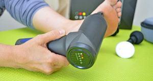 Anwendungszweck einer Massagepistole im Test und Vergleich