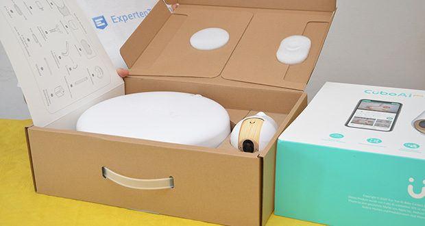 Cubo Ai Plus Smart Babyphone im Test - Produktmaße: 8,69 x 10,85 x 11,15 cm; Gewicht: 220g