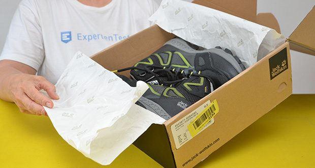 Jack Wolfskin Herren Downhill Texapore MID M Trekkingschuhe im Test - Obermaterial: Textile; Synthetic; TEXAPORE