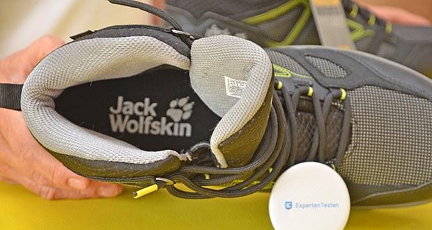 Jack Wolfskin Herren Downhill Texapore MID M Trekkingschuhe im Test - Innenmaterial: Synthetik; Verschluss: Schnüren; Wasserdicht