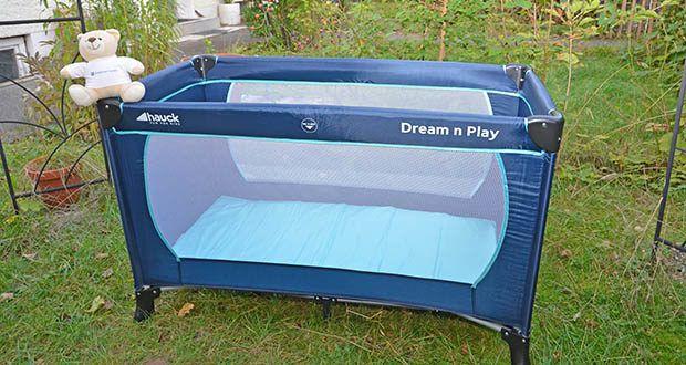 Hauck Babyreisebett Dream N Play Plus im Test - empfohlenes maximales Körpergewicht: 15 kg