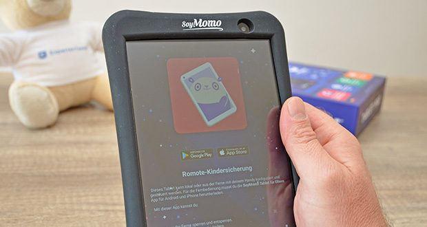 SoyMomo Tablet Pro im Test - dank des Werbeblockers können Kinder sicher im Internet surfen, die Privatsphäre wird geschützt und das Risiko von Cyberangriffen wird verringert