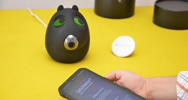 Safe2Home Funk Alarmanlage OTTO im Test - bei Alarm wird eine SMS oder ein Anruf an das gekoppelte Smartphone gesendet