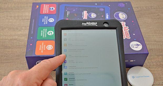 SoyMomo Tablet Pro im Test - mit zahlreichen Funktionen für Kinder und Eltern