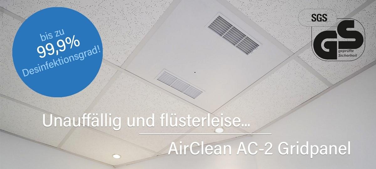 Der Luftreiniger von Mundschutzhandel.de AirClean AC-2 Grid im Test und Vergleich